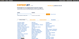 CareerJet Homepage