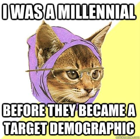 Millennial Cat