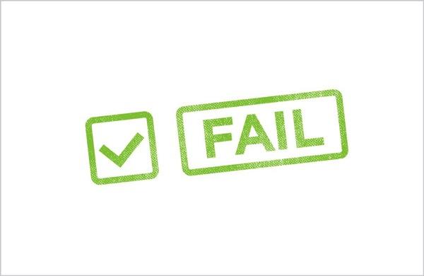 Failure is OK